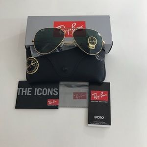 Ray-Ban aviator sunglasses, RB3025, Unisex